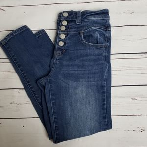 Aeropostale bree highrise size 2 cropped jeggings